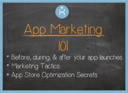 Marketing apps 101