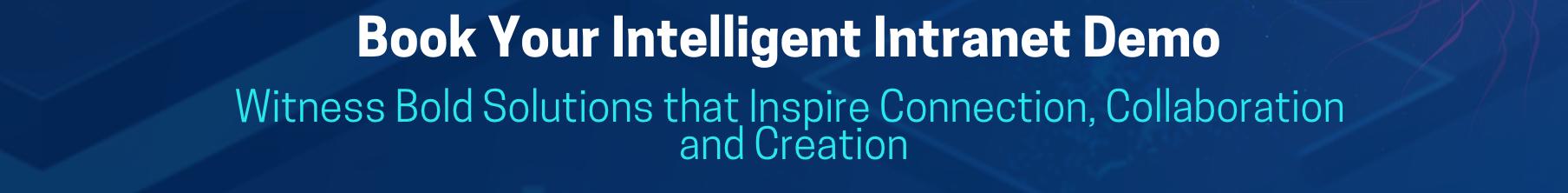 Book a CloudScale Intelligent Intranet Demo