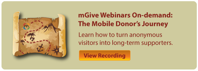 mGive Nonprofit Webinars: The Mobile Donor's Journey