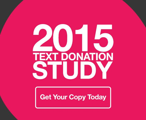 2015 Text Donation Study
