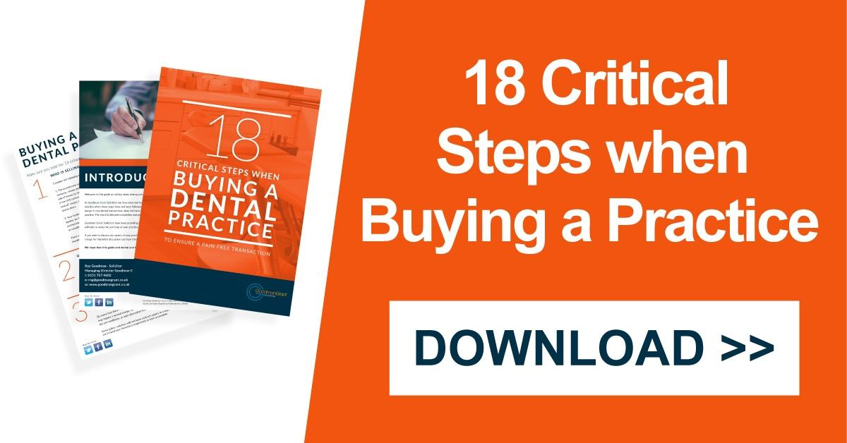 18_critical_steps_when_buying_a_dental_practice