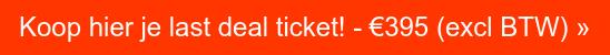 Koop hier je OPPORTUNITY ticket! - €195 (excl BTW) »
