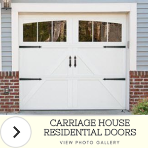 Carriage House Doors Photo Gallery