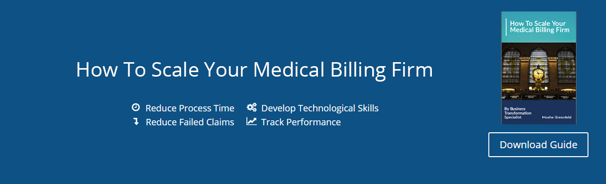 How to scale your medical billing firm