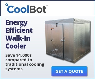 Energy Efficient Walk-In Cooler Powered by the CoolBot