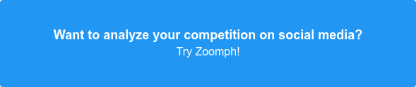 Track and analyze your competition on social media. Try Zoomph!