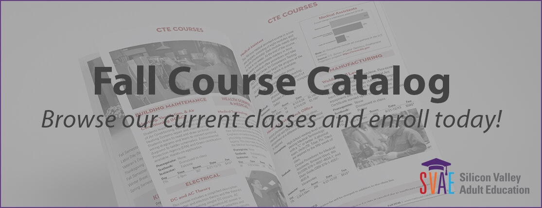 Fall Course Catalog