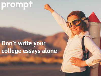 Don't write your college essays alone
