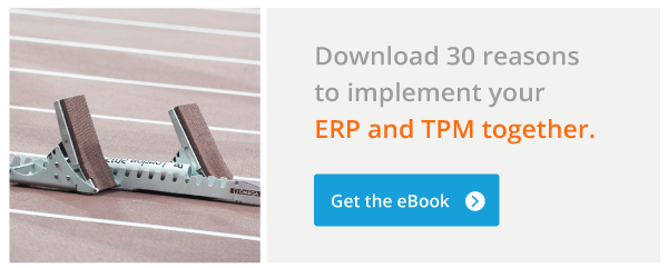 30 Reasons to implement your ERP and TPM systems together