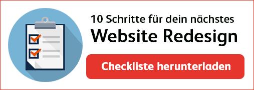 10 Schritte für dein nächstes Website Redesign