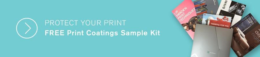 Aqueous Coating Print Samples Kit