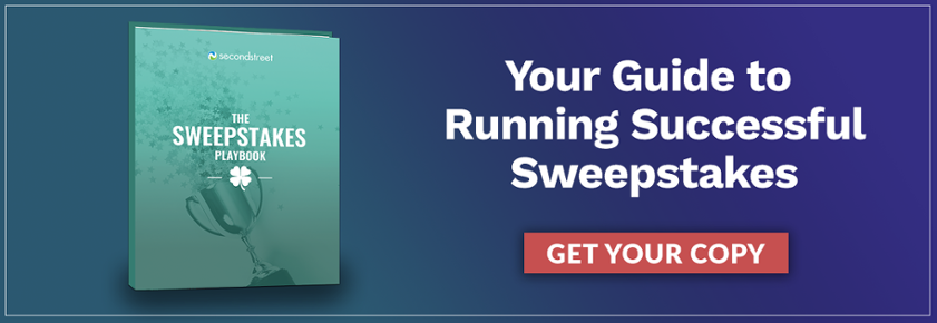 Get your copy of The Sweepstakes Playbook.