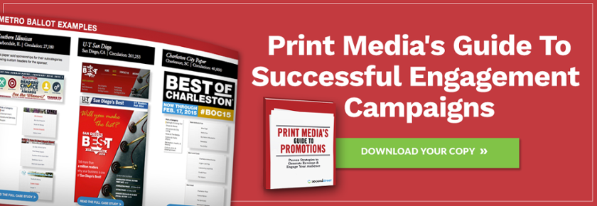 Get your copy of the Print Media's Guide to Promotions Playbook.
