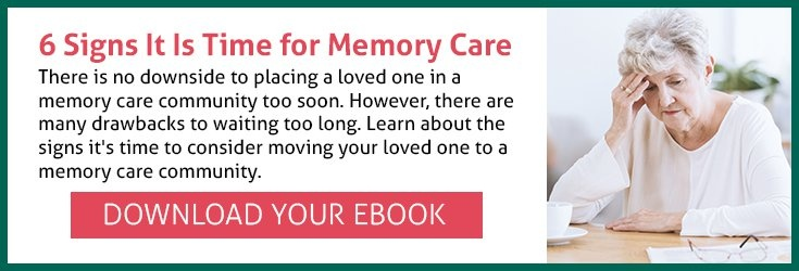 When is the Right Time for Memory Care