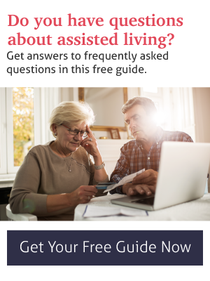 questions about assisted living answered in this complimentary ebook - frequently asked questions about assisted living