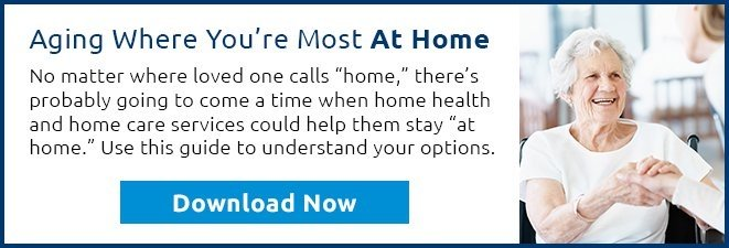 Download our guide to home health and home care today