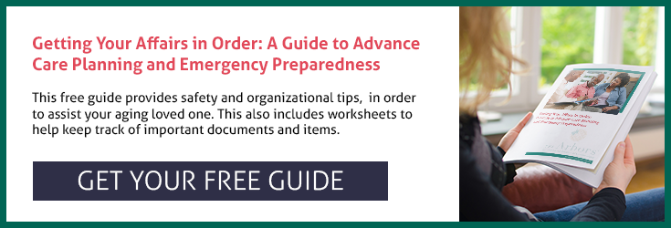 Getting Your Affairs in Order: A Guide to Advance Care Planning and Emergency Preparedness