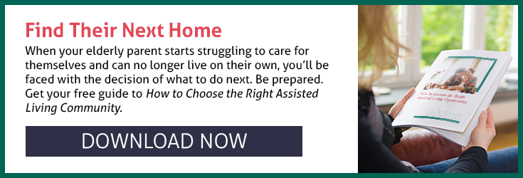Download the eBook How to Choose the Right Assisted Living Community by the Arbors Assisted Living