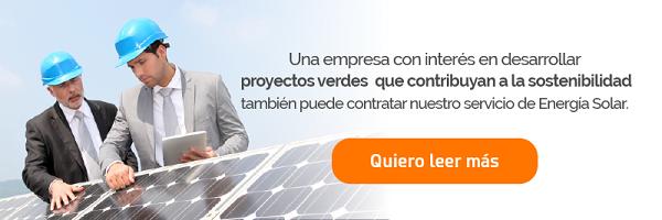 Energía Solar - Producto para Empresas