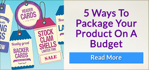 Popular Topic - 5 Ways To Package Your Product On A Budget - READ MORE