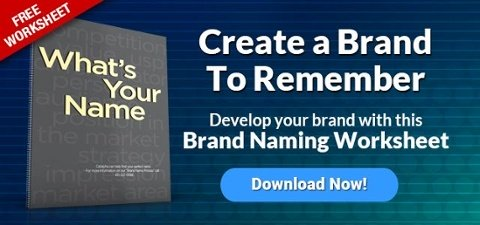 Download What's Your Name Brand - Brand Naming Worksheet