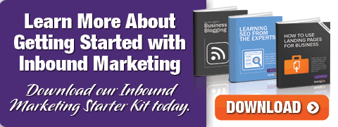 Download our Inbound MArketing Starter Kit today