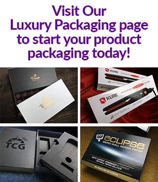 Visit our Luxury Packaging page. Examples of luxury packaging.