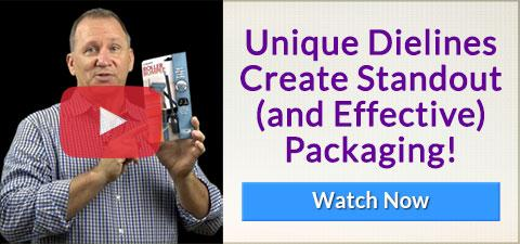 Popular Video - Unique Dielines Create Standout and Effective Packaging - WATCH NOW
