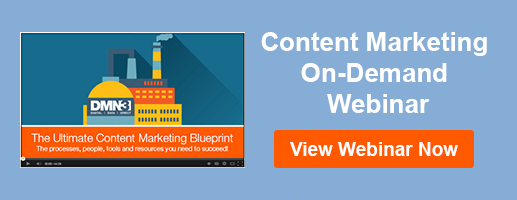 View content marketing on-demand webinar