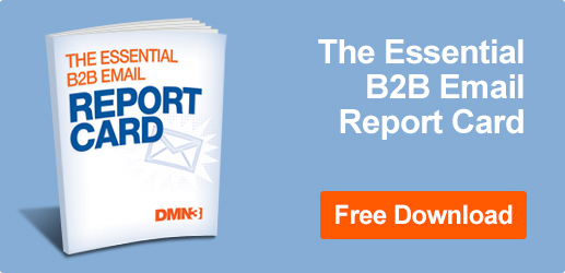 Download the essential B2B email report card