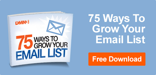 75 Ways to Grow Your Email List