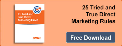 Download 25 Tried and True Direct Marketing Rules