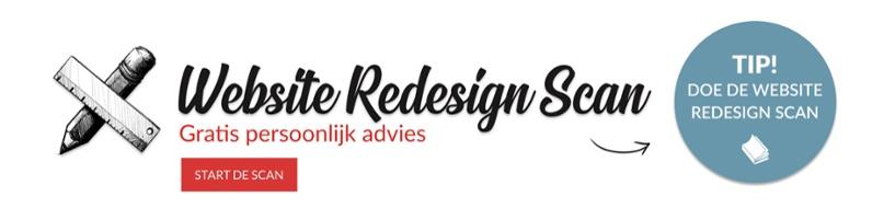 website redesign scan