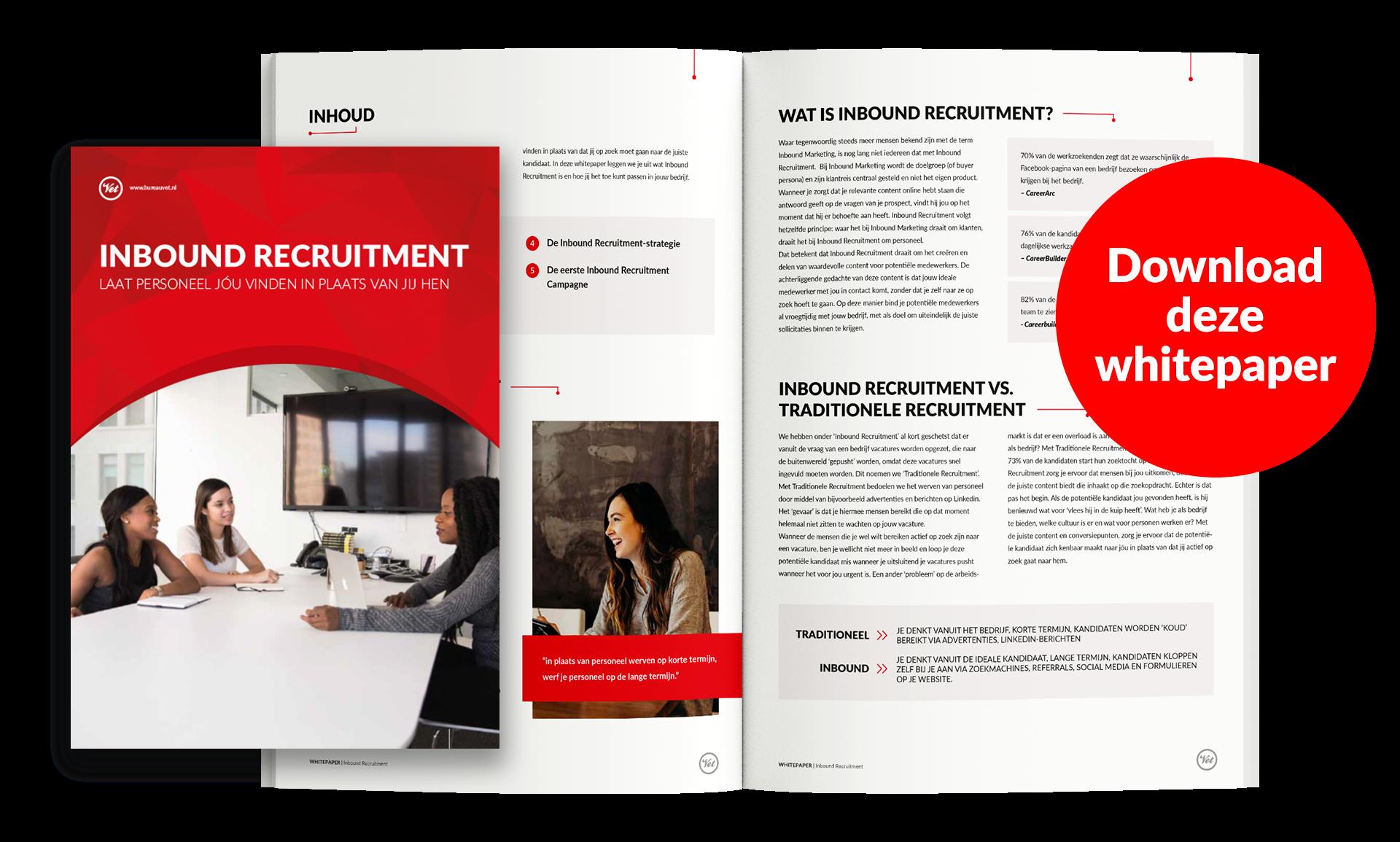 Inbound Recruitment whitepaper