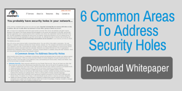 6 Common Areas To Address Security Holes