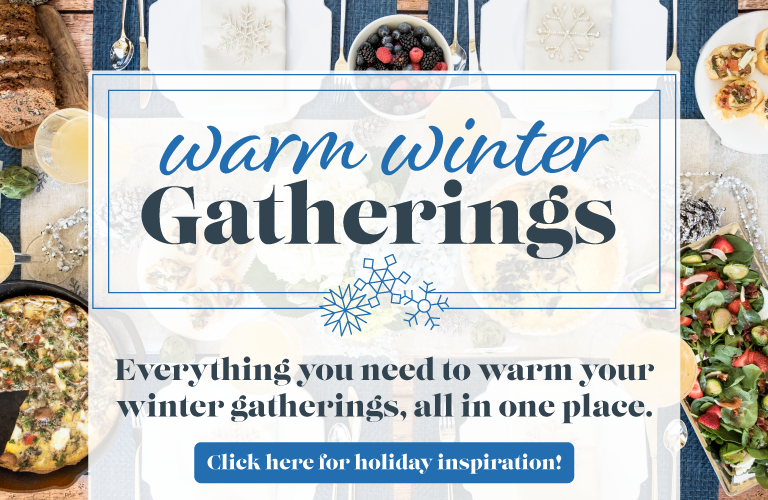 Warm Winter Gatherings Mobile CTA