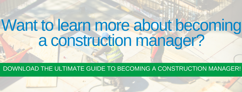 become a construction manager in ohio