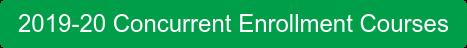 2019-20 Concurrent Enrollment Courses