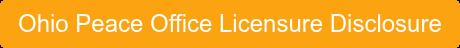 Ohio Peace Office Licensure Disclosure