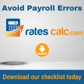 Ratescalc.com payroll errors checklist