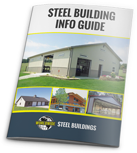 The Steel Building Info Guide from Worldwide Steel Buildings contains everything you need to now about a steel building kit.
