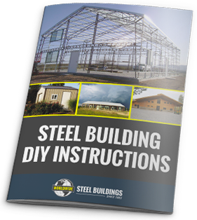 Worldwide Steel Buildings provides this Steel Building DIY Instruction document to help you decide if you can build it yourself.