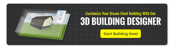 3D building designer to customize your steel building kit