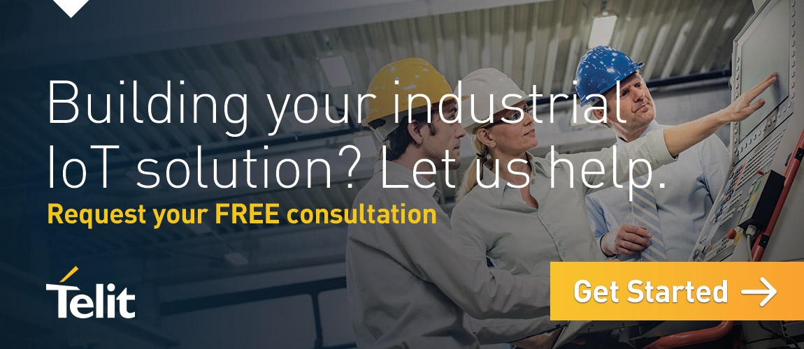 Building your industrial IoT solution? Let us help. Request your FREE consultation. Get started.