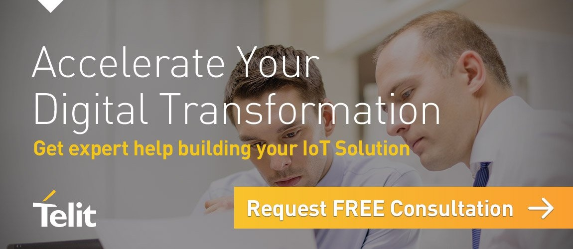 Accelerate Your Digital Transformation - Get expert help building your IoT Solution - Request FREE Consultation