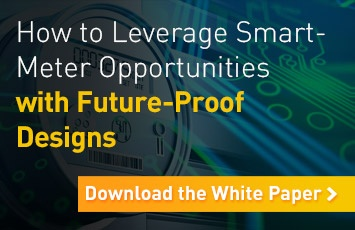 How to leverage smart-meter opportunities with future-proof designs. Download the white paper.