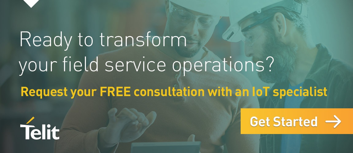 Ready to transform your field service operations? Request your free consultation with an IoT specialist- click here to get started.