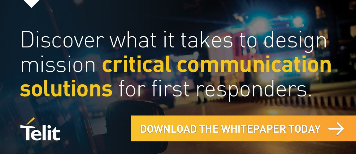 Discover what is takes to design mission critical communication solutions for first responders. Download the whitepaper today.