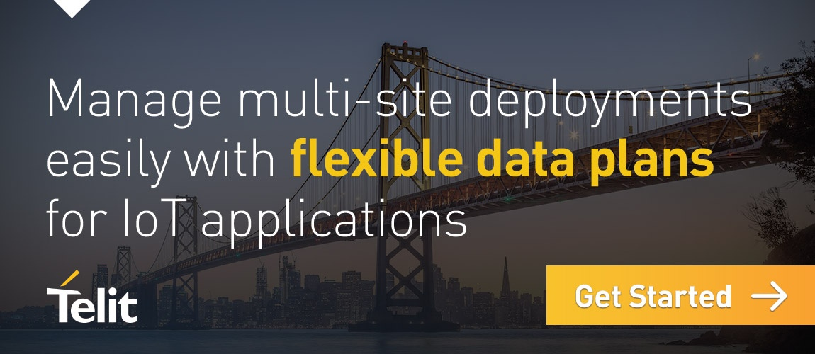 Manage multi-site deployments easily with flexible data plans for IoT applications