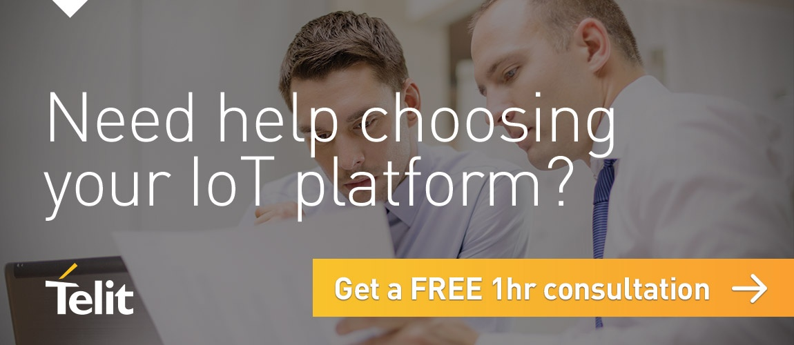 Need help choosing your IoT platform? Get a FREE 1hr consultation